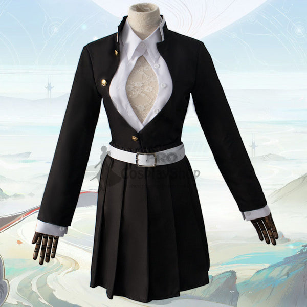 Anime Demon Slayer/Kimetsu No Yaiba Kanroji Mitsuri Cosplay Costume