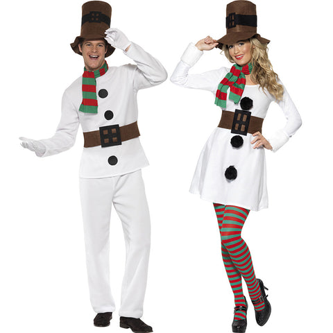 2020 Christmas Adults Snowman Costume Set