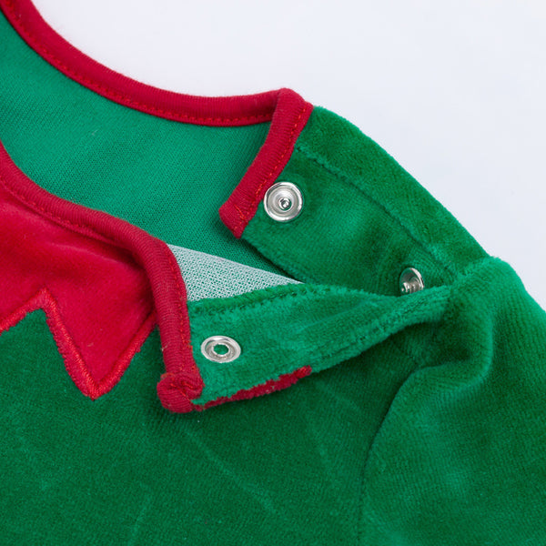 2020 Christmas Baby Girls Boys Toddler Elf Cosplay Costume With Hat