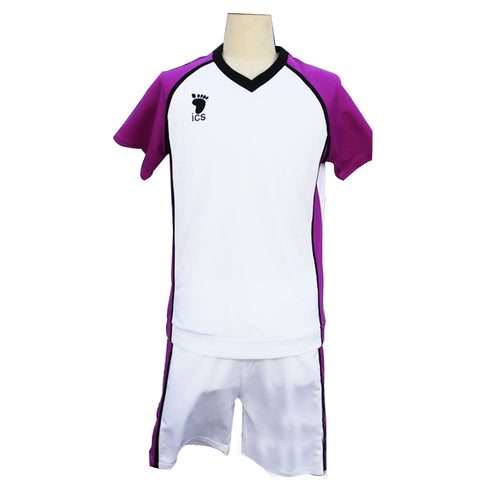 Anime Haikyuu Shiratorizawa Academy Volleyball  Cosplay Costume Sportswear