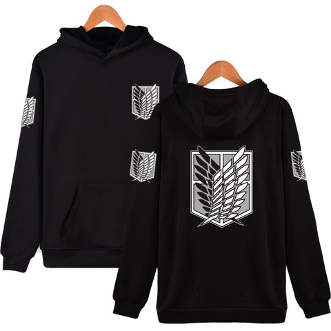 Anime Attack On Titan Scout Regiment Hoodie Unisex Comfy Hooded Pullover Sweathirt
