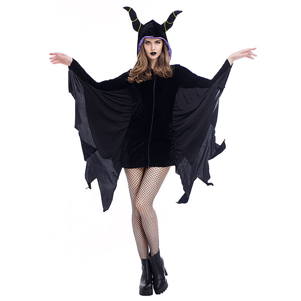 New Bat Horn Sleeping Spell Witch Cosplay Costume Halloween/Stage/Party