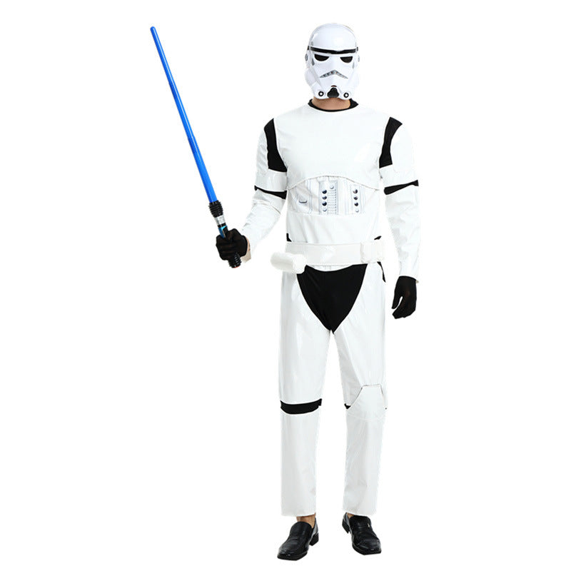 Adult Star Wars Clone Stormtrooper Soldier Costume Halloween / Stage Performance / Party