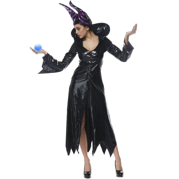 Leather Sleeping Spell Witch Costume Halloween/Stage Performance/Party