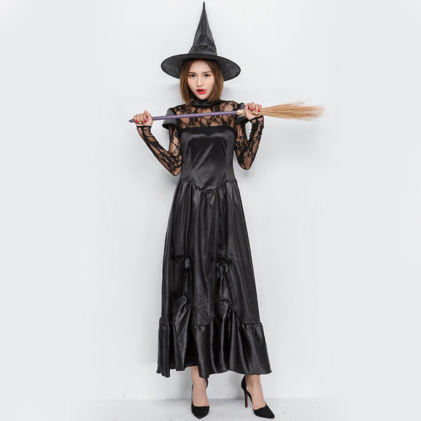 New Sexy Witch Game Cosplay Costume Halloween/Stage Performance/Party