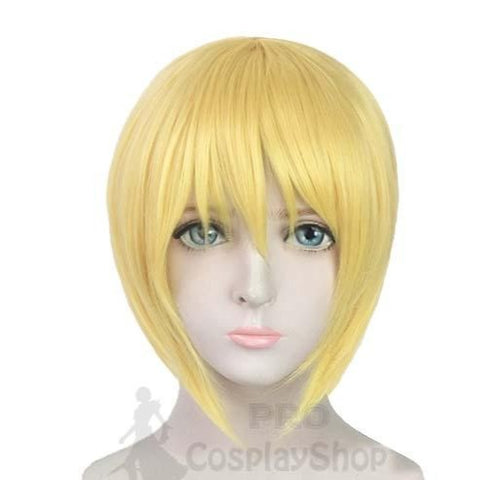 Anime Fire Force Enen No Shouboutai Iris Nun Cosplay Wigs