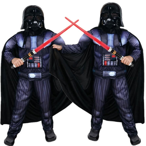 Kid's Deluxe Star Wars Darth Vader Costume Halloween / Stage Performance / Party