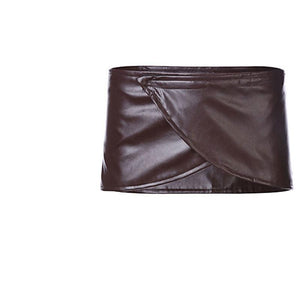 Cosplay Attack On Titan Shingeki No Kyojin Leather Skirt Hip Wrap