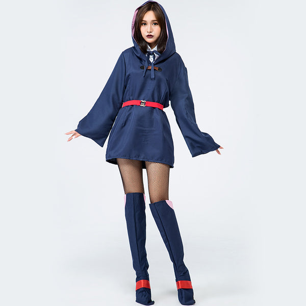Japanese Anime Witch Cute School uniforms Cosplay Costume Halloween/Stage Performance/Party