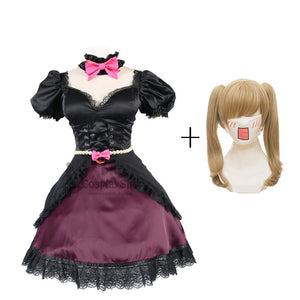 Overwatch D.VA Song Hana Black Cat Cosplay Costume Halloween Cosplay Dress With Wigs