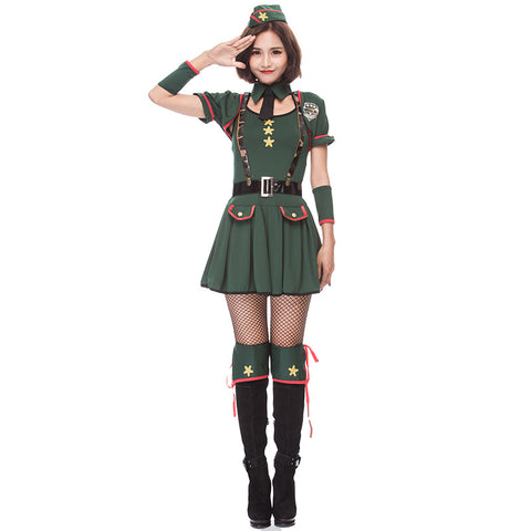 Army Officer Navy Sailor Costume