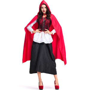Deluxe Lace Little Red Riding Hood Costume