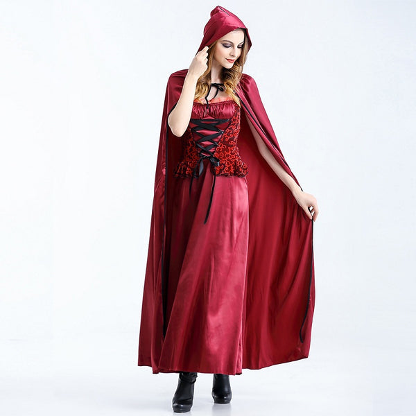Deluxe Royal Lady Little Red Riding Hood Costume
