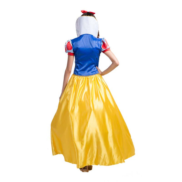 Adult Women Disney Deluxe Snow White Princess Dress Costume Halloween / Stage Performance / Party