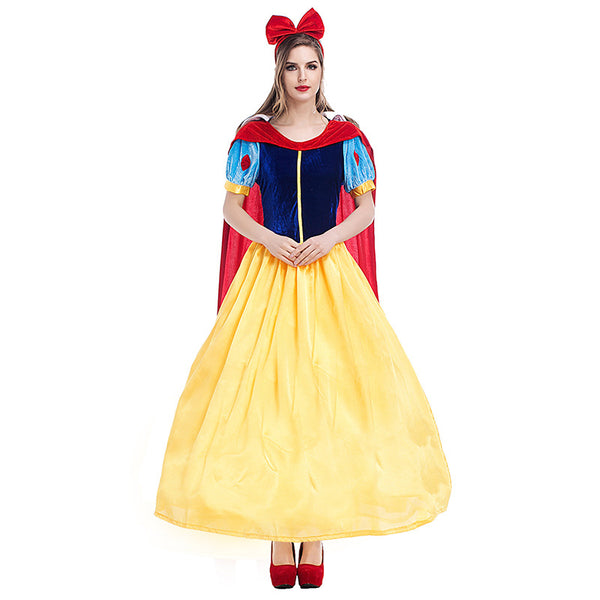 Adult Women Disney Snow White Princess Dress Costume Halloween / Stage Performance / Party