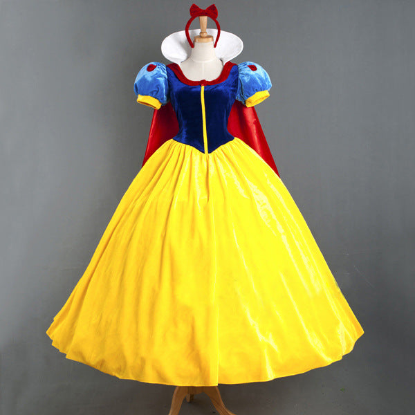 New Adult Women Disney Snow White Princess Dress Costume Halloween / Stage Performance / Party