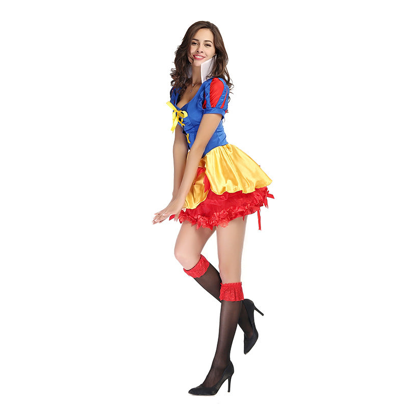 Adult Women Disney Snow White Princess Tutu Dress Costume Halloween / Stage Performance / Party
