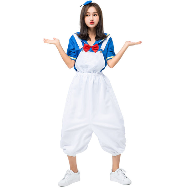 Donald Duck Style Navy Sailor Costume