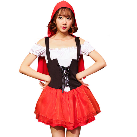 Fairy Princess Style Little Red Riding Hood Costume