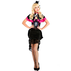 Adult Women Halloween Queen Latin Dance Dress Costume For Halloween/Stage Performance/Party