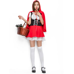 Lace Leg Avenue Little Red Riding Hood Costume