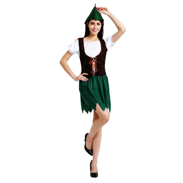 Adult Women Peter Pan Robin Hood Cosplay Costume Halloween / Stage Performance / Party