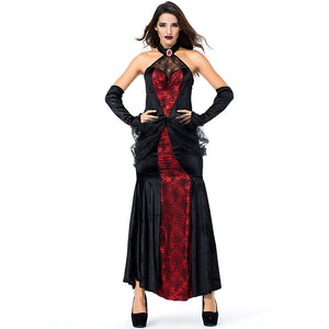 Adult Women Queen of Spider Costume For Halloween/Stage Performance/Party