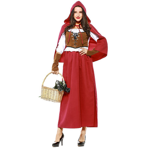 Renaissance Style Little Red Riding Hood Costume