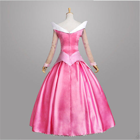 Adult Women Sleeping Beauty Princess Aurora Halloween Costume Party Fancy Dress