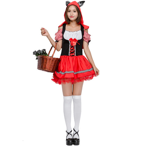 Wolf Ears Little Red Riding Hood Costume