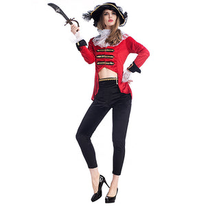 Adult Womens Sexy Regal Pirate Lady Costume Halloween / Stage Performance / Party