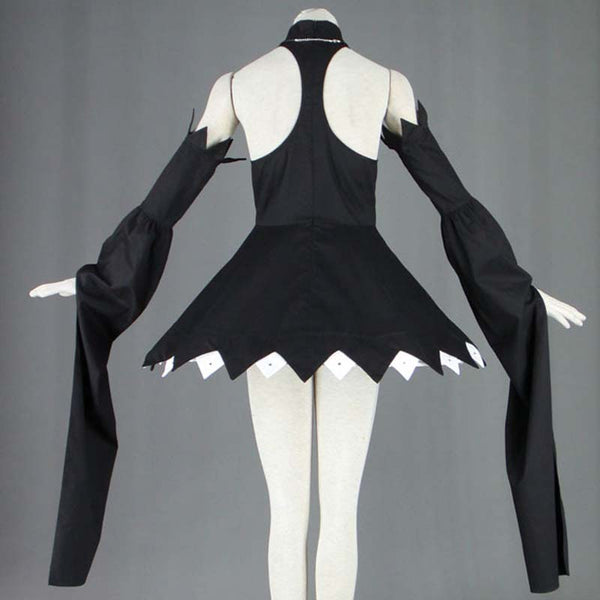 Ainime Soul Eater Blair Oversleeve Black Dress Cosplay Costume With Hat