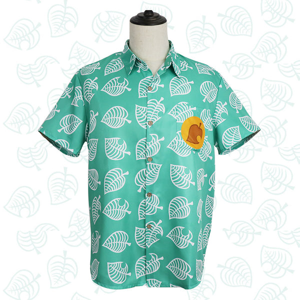 Animal Crossing Tom NOOK Isabelle Cosplay Costume Shirt