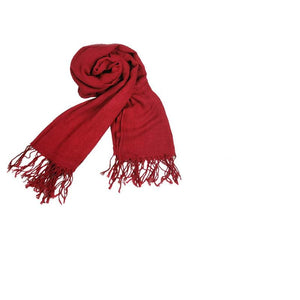 Attack on Titan Mikasa Ackermann Cosplay Scarf Props