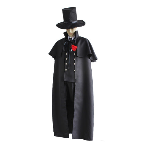 Anime Black Butler Ciel Phantomhive Cosplay Costume Set
