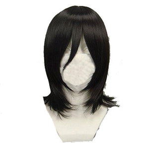 Anime Bleach Kuchiki Rukia Cosplay Wigs