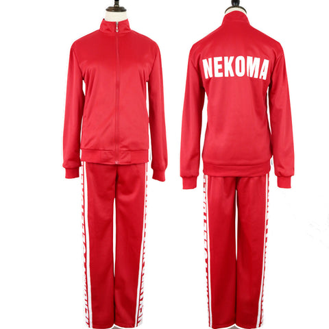 Anime Haikyuu Nekoma High Volleyball Kozume Kenma Cosplay Costume Sportswear