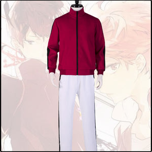 Anime Haikyuu!!  Inarizaki High School Cosplay Costume Sports Suit