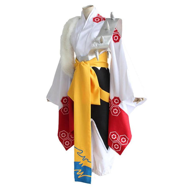 Anime Inuyasha Sesshomaru  Cosplay Costume Halloween Costume