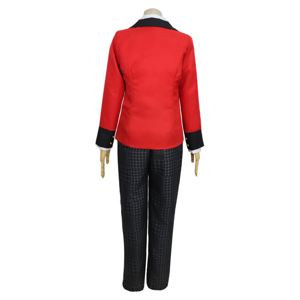 Anime Kakegurui Compulsive Gambler Ryōta Suzui Cosplay Costume Uniform Full Set