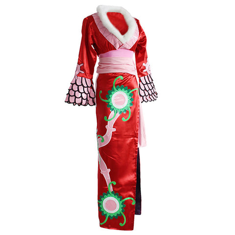 Anime One Piece Cosplay Costume Boa Hancock Jotei Queen Cosplay Costume
