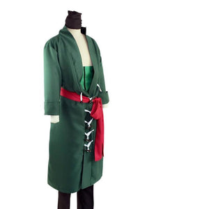 Anime One Piece Roronoa Zoro Cosplay Costume