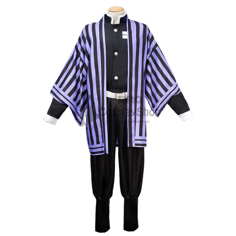 Anime Demon Slayer / Kimetsu no Yaiba Iguro Obanai Cosplay Costume