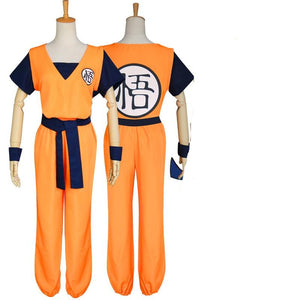Anime Dragon Ball Adults Son Goku Yellow Cosplay Costume Suit
