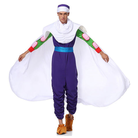 Anime Dragon Ball Piccolo Cosplay Costume Suit Full Set