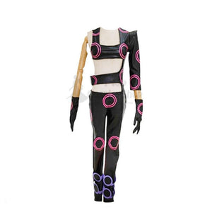 Jojo's Bizarre Adventure Vento Aureo Melone Girls Suit Cosplay Costume