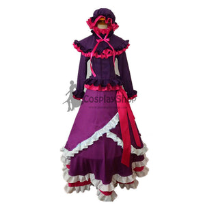 Anime OVERLORD Shalltear Bloodfallen Lolita Party Dress Cosplay Costume