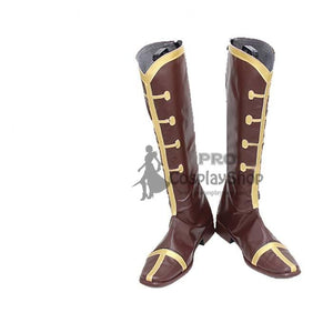 Anime Overlord Mare Bello Fiore Cosplay Boots