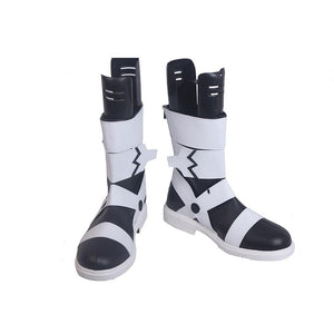 Anime Soul Eater Maka Albarn Cosplay Shoes/Boots Black and White