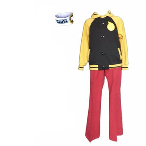 Anime Soul Eater Soul Evans Cosplay Costume With Headband